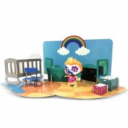 Mini Beat Power Rockers com PlaySet 3D Wat Multikids - BR995