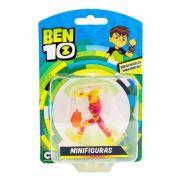 Mini Figuras - Ben 10 - Boneco Chama - Original Sunny