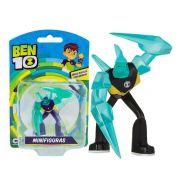 Mini Figuras - Ben 10 - Boneco Diamante - Original Sunny