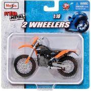 Miniatura KTM 450 - 2 Wheelers - Fresh Metal - Maisto 1:18