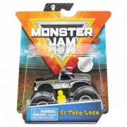 Monster Jam El Toro Loco Cinza Metal Escala 1:64 - Original