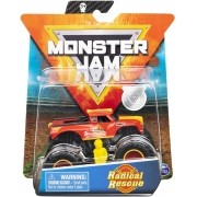 Monster Jam Carro Truck 1:64 Radical Rescue Metal - Original