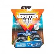 Monster Jam Truck Blue Thunder Metal 1:64 - Original Sunny