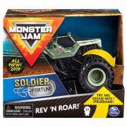 Monster Jam - Soldier Fortune com Som - Escala 1:43