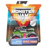 Monster Jam Truck - Grave Digger - Escala 1:64 - Original