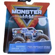 Monster Jam Truck - Ice Cream Man - Escala 1:64 - Original