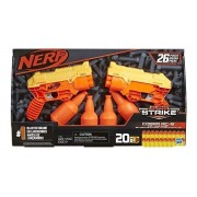 Nerf Lançador de Dardos - Duas Nerfs c/ Alvos - 20 Dardos
