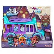 Ônibus dos Monstrinhos Lobo Howler - Super Monstros Netflix