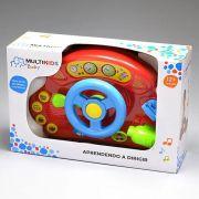 Painel de Veículo Divertido - Primeiro Brinquedo - Multikids