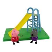 Parquinho da  Peppa - Escorregador Peppa Pig e Danny - Sunny