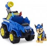 Patrulha Canina Carro Deluxe Dino - Chase e Veículo - Sunny