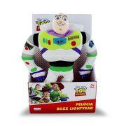 Pelucia Buzz Lightyear de 30 cm - Emite  som - Disney Toy Story  - Multikids