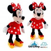 Pelúcia Minnie Com Som  - Disney  - Tam 33cm - Multikids
