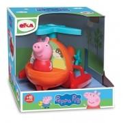 Brinquedo Peppa Pig Helicóptero -Boneca Peppa Pig - Elka