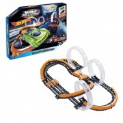Pista Hot Wheels c/ 2 Carrinhos - Wave Racers Pista Triple