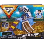 Pista Monster Jam - Playset Ship It & Flip It !! - Original