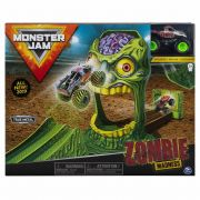 Pista Monster Jam - Playset Zombie Madness - 2019 Original