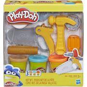 Play-Doh Massinha  - Ferramentas de construção  - Hasbro Original E3565