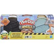Play-Doh Wheels - Massa de Construção Pavimento e Cimento - Hasbro E4508