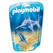 Playmobil Animais Marinhos - Peixe Espada e Filhote - 9068
