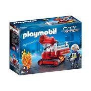 Playmobil - Caminhão de Água Corpo de Bombeiros - Original
