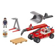 Playmobil City Action - Guindaste Corpo de Bombeiros - 9465