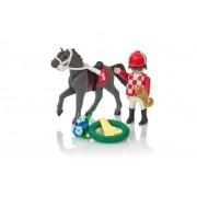 Playmobil Country - Corredor e Cavalo e Acessórios - 9261