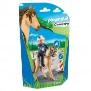 Playmobil Country - Guarda e Cavalo e Acessórios - 9260