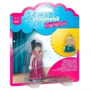 Playmobil - Fashion Girls - Moda De Festa - Sunny - Boneca