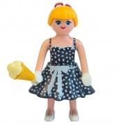 Playmobil - Fashion Girls - Moda Retrô- Sunny - Boneca
