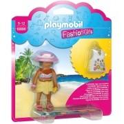 Playmobil - Fashion Girl Boneca Moda Praia - Sunny Brinquedo