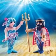 Playmobil - Pack 2 Figuras - Rei dos Mares e Sereia