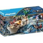 Playmobil Pirates - Bastião de Casaco Vermelho - 101 peças