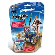 Playmobil Pirates - Pirata Com Canhão Interativo - 6164