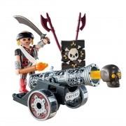 Playmobil Pirates - Pirata Com Canhão Interativo - 6165