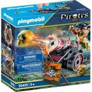 Playmobil Pirates - Pirata e Canhão - 21 peças - 70415 Sunny