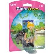 Playmobil - Playmo Friends - Menina e Gorila - Sunny 9074