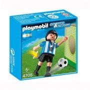 Playmobil Sports e Action - Jogador de Futebol da Argentina - Sunny Original 4705