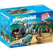 Playmobil Starter - Batalha do Cavaleiro Tesouro - 39 peças