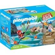 Playmobil Starter Pack - Aventura Parque Caiaque - 36 peças