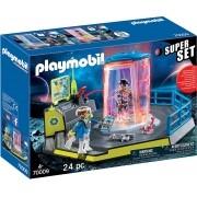 Playmobil - Super Set Prisão Policial Galática - 24 peças