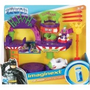 Playset Fábrica de Risadas do Coringa - Batman - Imaginext