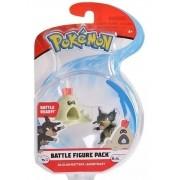 Pokemon Battle Figura - Bonecos Rattata e Sandygast - WCT