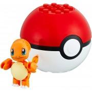 Pokemon Boneco Charmander e Pokebola Mega Construx - Mattel