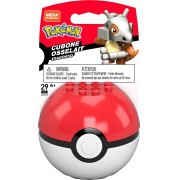 Pokemon Boneco Cubone e Pokebola - Mega Construx - Mattel