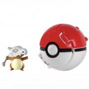 Pokemon - Boneco + Pokebola - Figura Cubone- Tomy Original