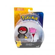 Pokemon - Boneco + Pokebola - Figura Ditto - Tomy Original