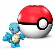 Pokemon Boneco Squirtle e Pokebola - Mega Construx - Mattel