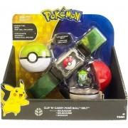 Pokemon Bulbasaur  Kit Cinturão - Cinto Porta Pokebola Tomy
