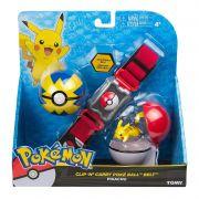 Pokemon Kit Cinturão De Ação- Cinto Porta Pokebola Tomy2